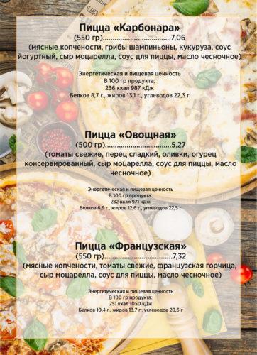 меню пиццы2